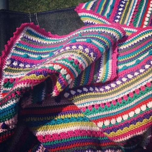 Crochet Along Babydecke von Michaela - schoenstricken.de