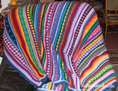 Crochet Along Babydecke von Monika