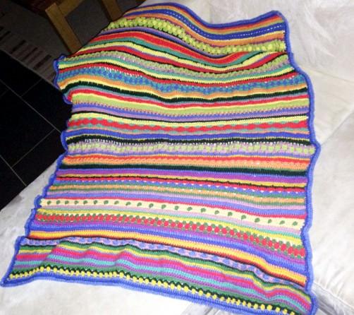 Crochet Along Babydecke von Nancy - schoenstricken.de