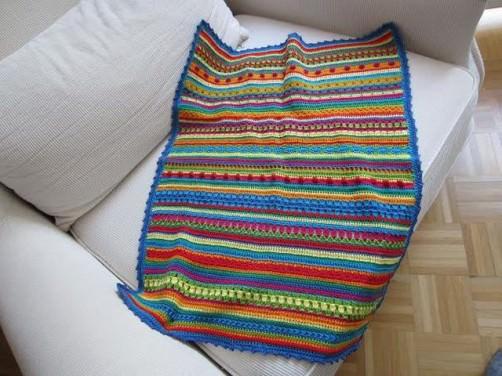 crochet along babydecke gr er h keln. Black Bedroom Furniture Sets. Home Design Ideas