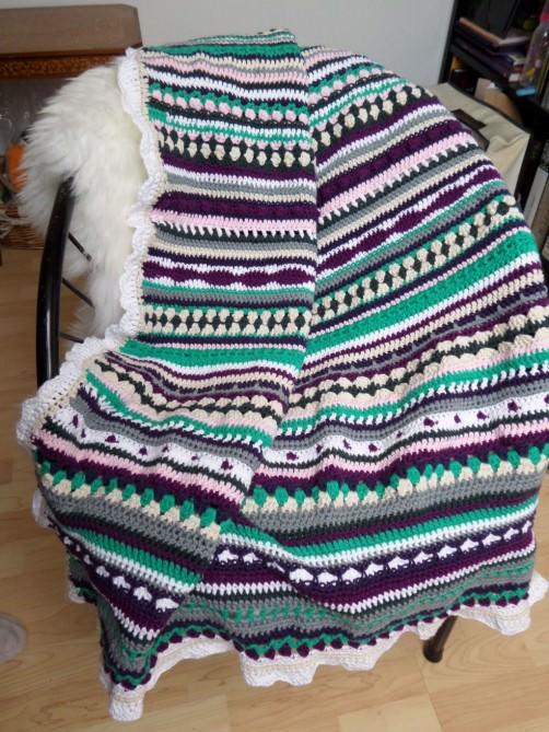 Crochet Along Babydecke von Raffaela - schoenstricken.de