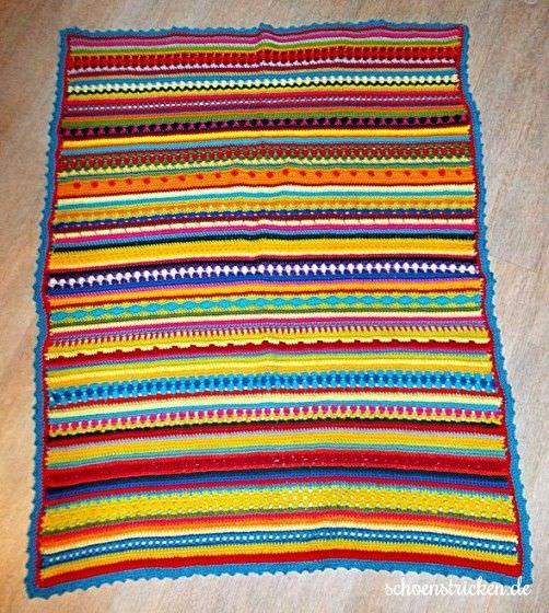Crochet Along Babydecke von Regina- schoenstricken.de