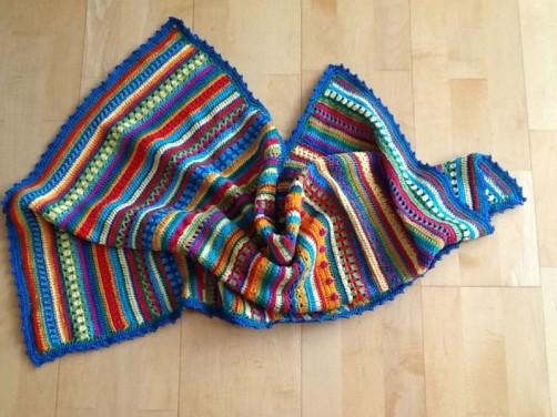 Crochet Along Babydecke von Sabine aus Freiburg - schoenstricken.de