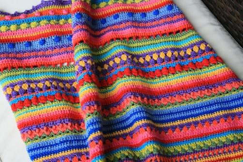 Crochet Along Babydecke von Sarah - schoenstricken.de