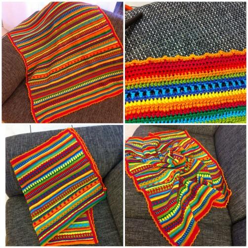 Crochet Along Babydecke von Sibel aus Leverkusen - schoenstricken.de