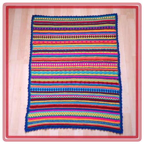 Crochet Along Babydecke von Sonja aus der Schweiz - schoenstricken.de