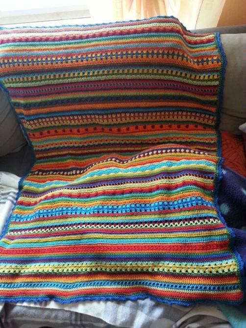 Crochet Along Babydecke von Tanja