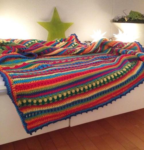 Crochet Along Babydecke von Ute aus Mainz - schoenstricken.de
