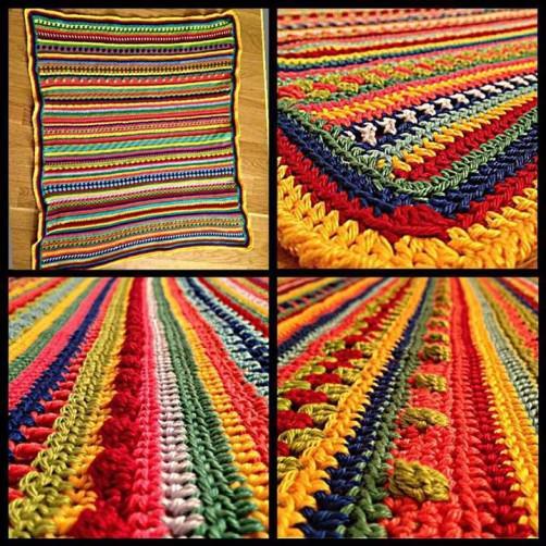 Crochet Along Babydecke von Nana aus der Schweiz - schoenstricken.de
