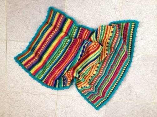 Crochet Along Decke von Hannah aus England