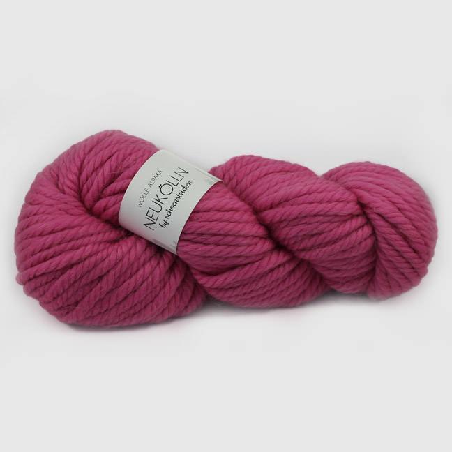 Merio-Alpakwolle Neukölln Farbe Magenta - schoenstricken.de