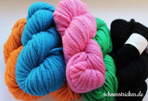 Merino Alpakawolle Neukölln diverse Farben - schoenstricken.de