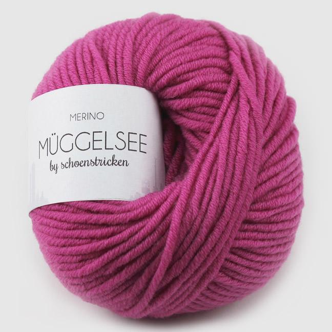 schoenstricken Wolle Müggelsee Pink