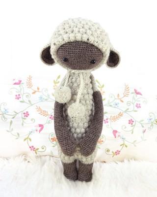 Lalylala Lupo das Lamm - schoenstricken.de