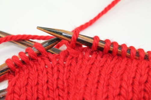 Handschuhe mit Herzen stricken Abnahme - schoenstricken.de