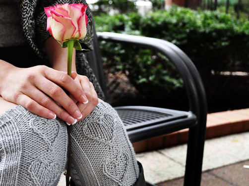 Herzstulpen stricken - schoenstricken.de