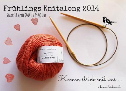 Beginn Knitalong Schal - schoenstricken