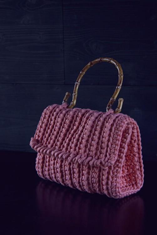 Schoenstrickende Taschen Henkel Häkeln