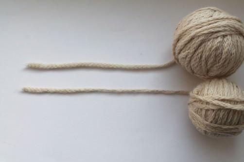 Verkrisselte Wolle glätten 3 - schoenstricken.de