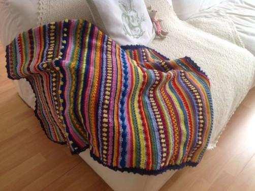 Crochet Along  Decke in Singapur schoenstricken.de