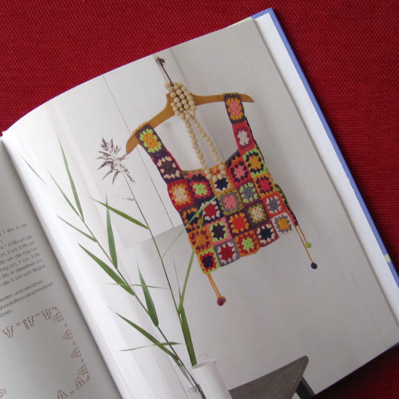 Schoenstrickende Häkelbuch Granny Squares Häkeln Im Quadrat