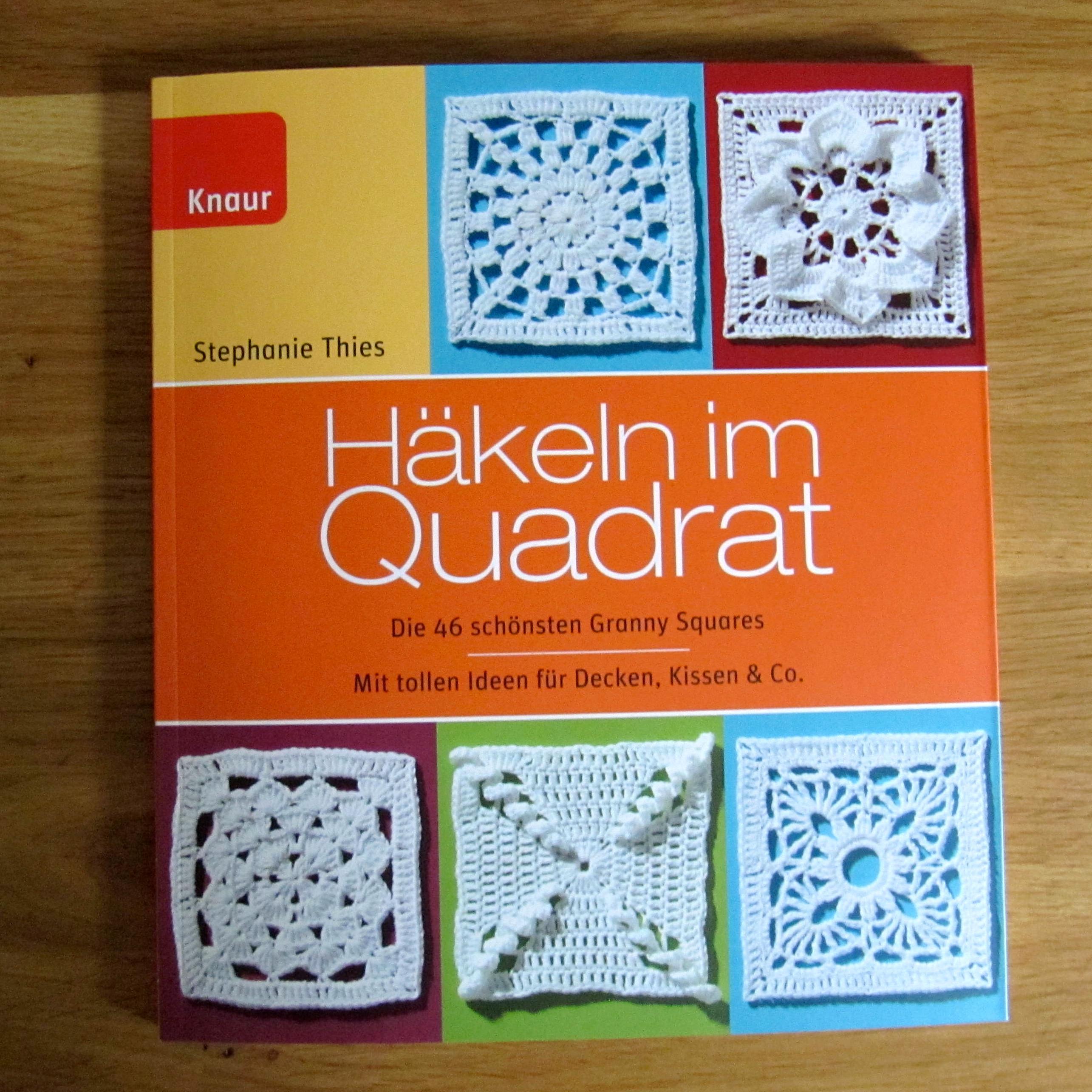 schoenstricken.de | Häkelbuch Rezension Häkeln im Quadrat