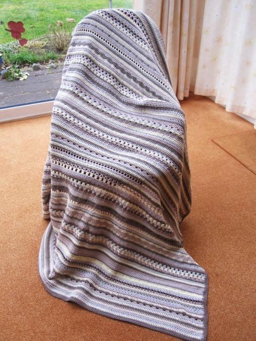 CAL Decke mit Baumwolle KREUZBERG schoenstricken.de