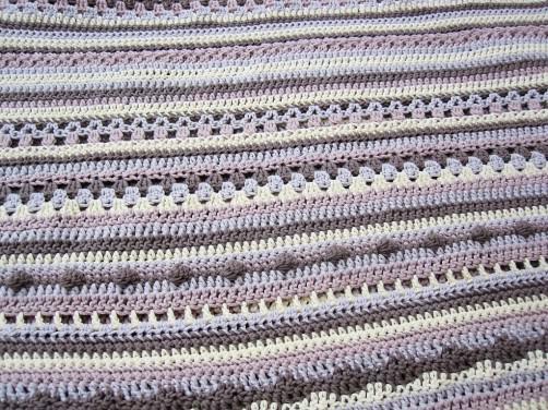 Crochetalong Decke mit Baumwolle KREUZBERG 1 schoenstricken.de