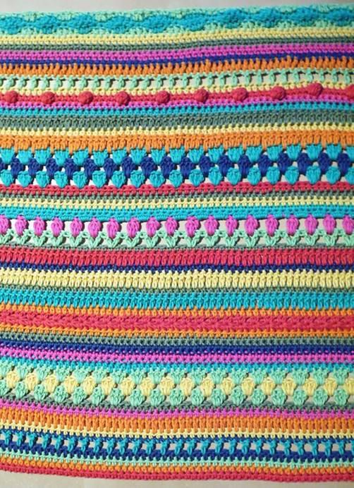 Crochetalong Decke mit Baumwolle KREUZBERG von Regina1 schoenstricken.de