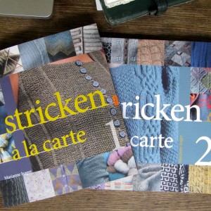 "Strickbuch Rezension ""Stricken à la Carte"""