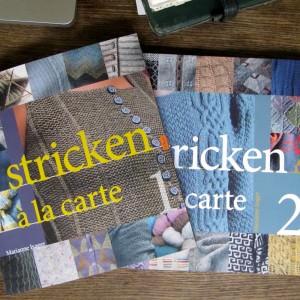 "Strickbuch Rezension ""Stricken à la Carte"""