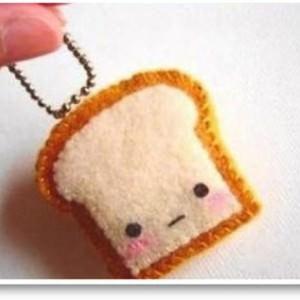 diy Einen Toast Schlüsselanhänger nähen