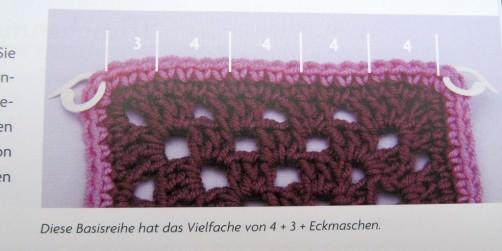 Buchrezension  Häkelbordüren von Edie Eckmann g schoenstricken.de