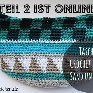 Taschen Crochetalong Teil 2