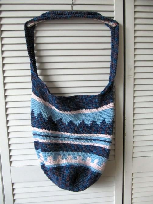 Crochetalong Häkeltasche Sand und Meer von Conny N.  schoenstricken.de