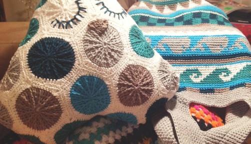 Crochetalong Häkeltasche Sand und Meer von Uli schoenstricken.de