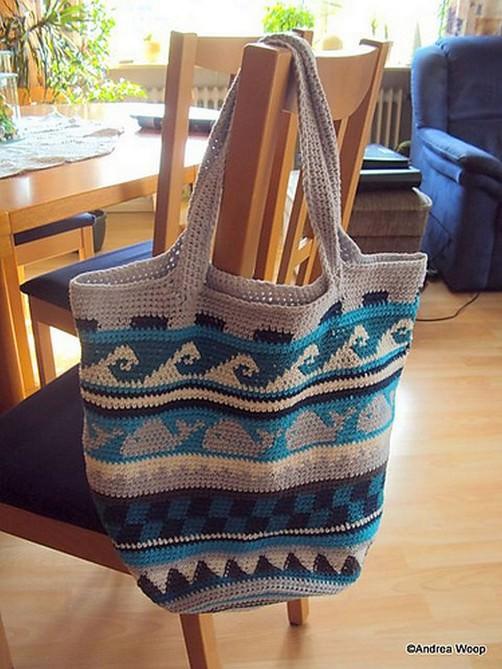 Crochetalong Häkeltasche von Andrea schoenstricken.de