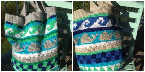 Crochetalong Häkeltasche von Conny schoenstricken.de