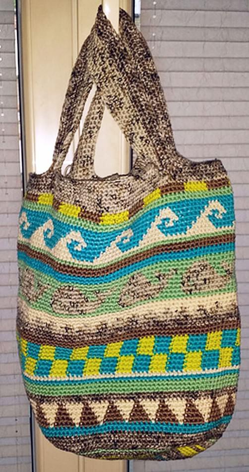 Crochetalong Häkeltasche von Kfrosch schoenstricken.de