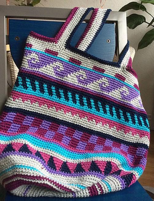 Crochetalong Häkeltasche von Renate schoenstricken.de