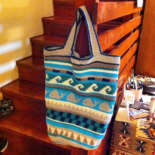 Crochetalong Häkeltasche von Sibelya schoenstricken.de
