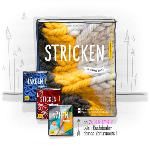 STricken so einfach geht´s Strickbuch von  schoenstricken.de
