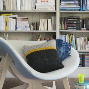 Kissen stricken - Strickkit von schoenstricken.de