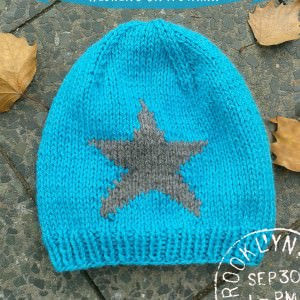 Die Mütze mit dem Stern stricken