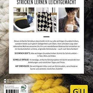 Stricken so einfach geht´s erschienen im GU Verlag Jessica Bewernick schoenstricken.de