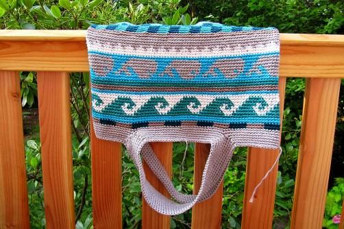 Taschen Crochetalong Teil 5 Henkel 3 schoenstricken.de