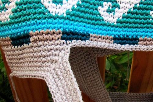 Taschen Crochetalong Teil 5 Henkel 4 schoenstricken.de