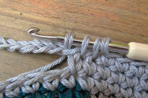 Taschen Crochetalong Teil 5 Henkel schoenstricken.de