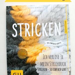 """Strickbuch Verlosung: """"Stricken so einfach geht´s"""""""