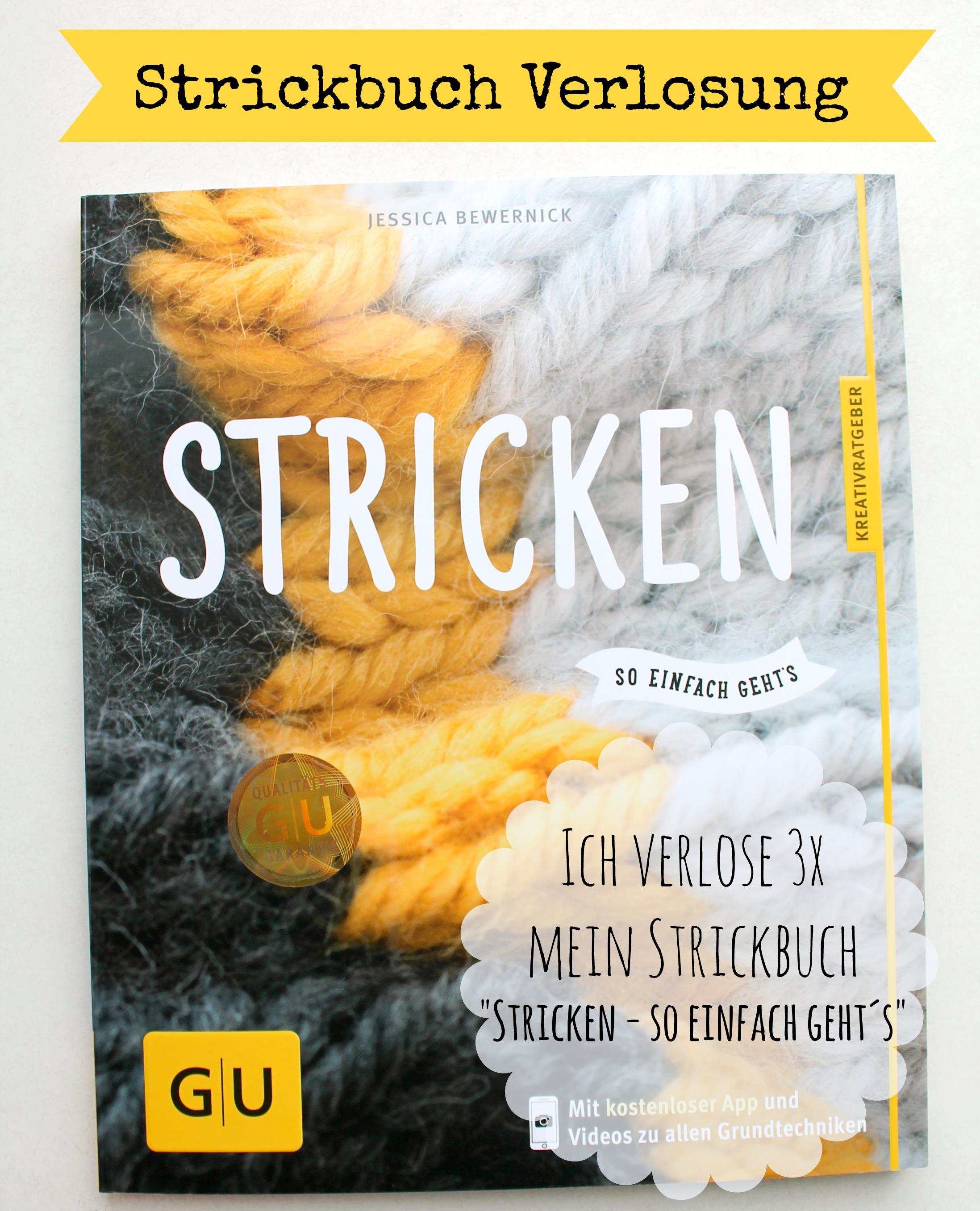 Verlosung Strickbuch Stricken so einfach geht´s schoenstricken.de